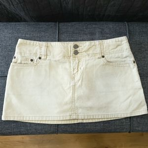 Abercrombie Corduroy Mini Skirt